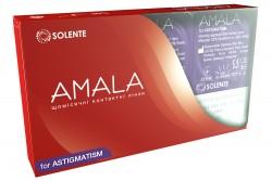 Гідрогелеві торичні контактні лінзи щомісячної заміни Solente Amala for Astigmatism