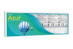 Гідрогелеві контактні лінзи щоденної заміни Solente Azur WET 1-Day