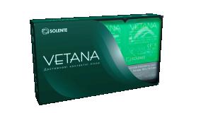 Гідрогелеві контактні лінзи двотижневої заміни Solente Vetana