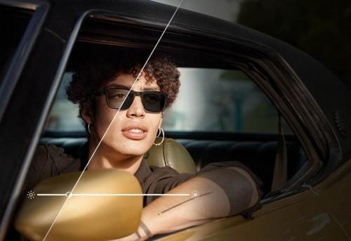 Технологія фотохромних лінз Transitions Xtractive